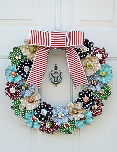 decoracao natalina para ambientes pequenos:Dulcinéias e Madalenas: Arte com papel II: decoração de festas com