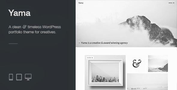 Yama - Retina Responsive WordPress Portfolio Theme