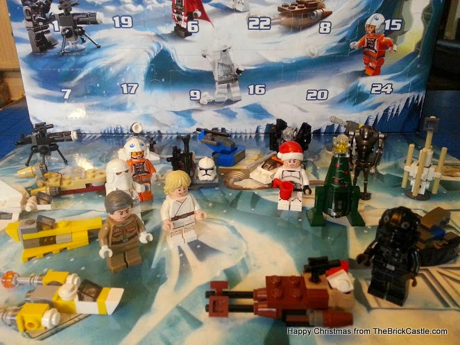 The LEGO Star Wars Advent Calendar Day 22 Droid in snow scene