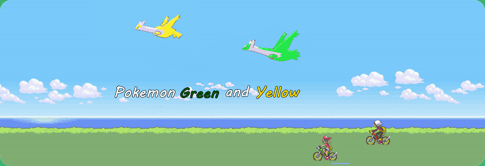 Pokemon Green and Yellow
