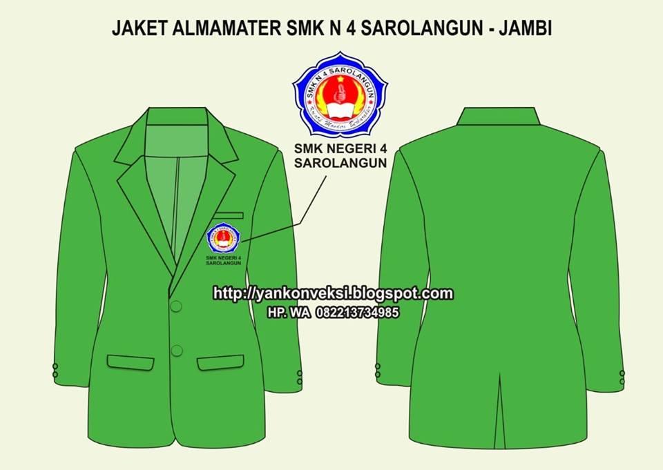 JAKET ALMAMATER SMK