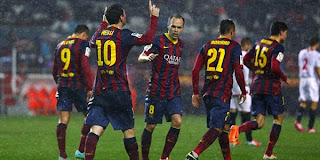 Video Gol Sevilla vs Barcelona 10 Februari 2014