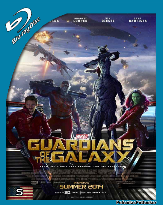 Guardianes De La Galaxia [BrRip 720p][Subtitulada][SD-MG-1F]
