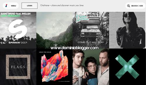 Descubre nueva musica y artistas en Undrtone