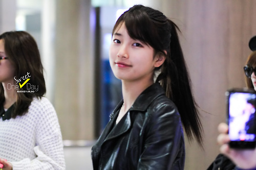 Bae Suzy Airport Fashion December 2012