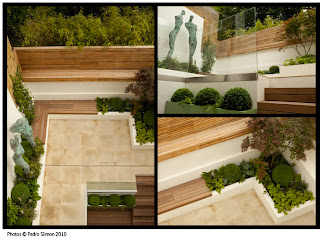 design modern gradina interioara