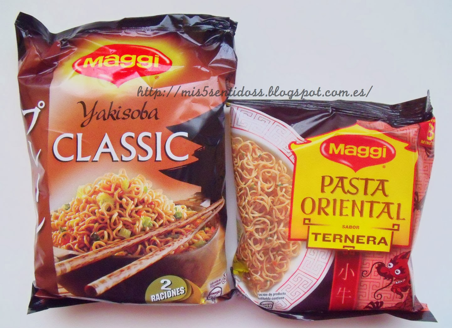 Maggi Yakisoba y pasta oriental Degustabox febrero 2014