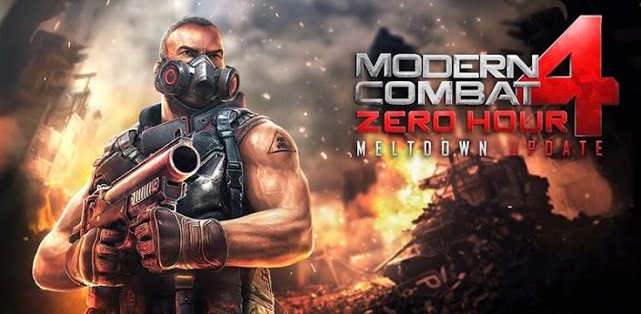 Modern Combat 4: Zero Hour v1.1.6 Apk MOD