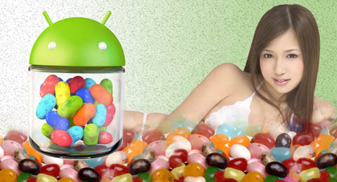 What Is Relied In Jelly Bean ?