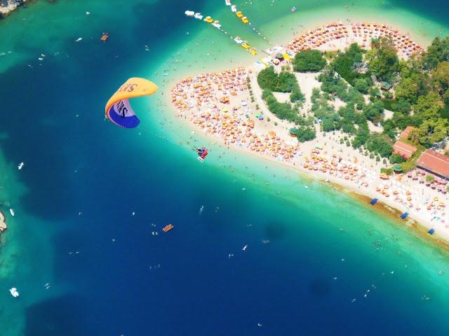 Ölüdenizin hiekkaranta Turkissa
