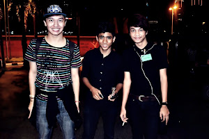 Me , Ameer and Zarul. Nahh , don't mention it. I loveeee them so much :)