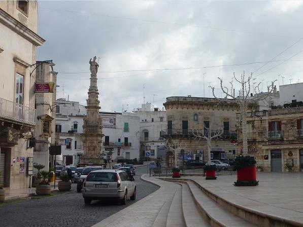 Ostuni Town Centre, Puglia