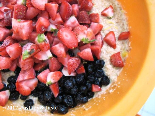 Resep Muffin Blueberry & Strawberry: You Are What You Eat ...