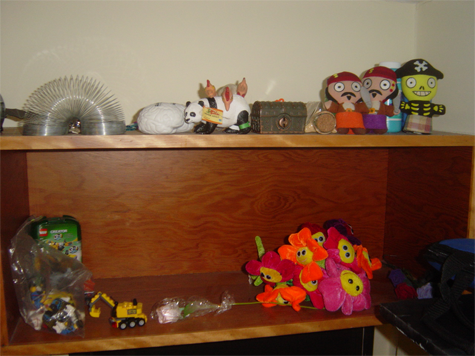 dorm shelf