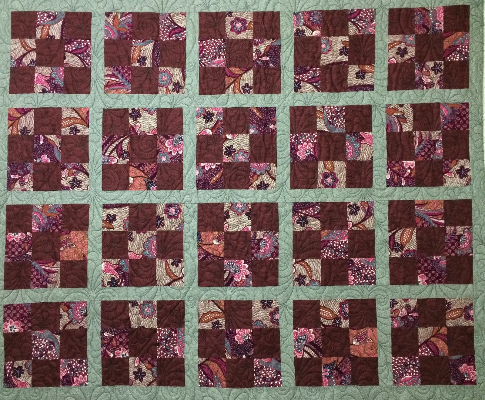 Wendy Day 9-Patch Quilt