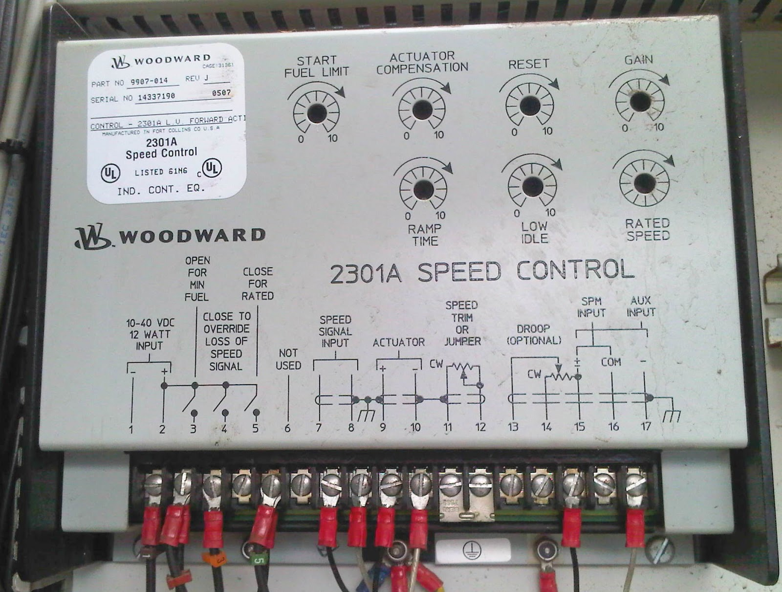 woodward speed controller ship spares rh svship blogspot com Woodward 2301A Speed Control Part Woodward Governors Manuals