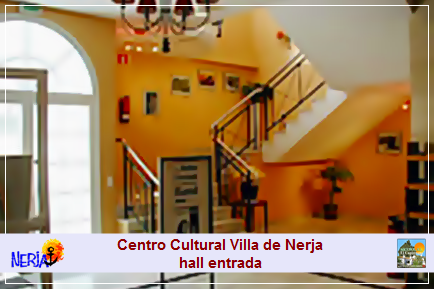 Hall de entrada del Centro Cultural Villa de Nerja
