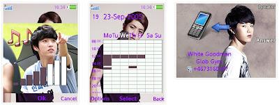 成烈@Infinite SonyEricsson手機主題for Elm/Hazel/Yari/W20﹝240x320﹞