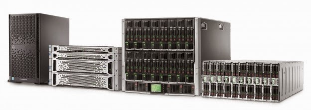hp ninth generations servers