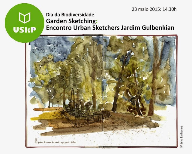 Encontro USkP - Dia da Biodiversidade nos Jardins Gulbenkian