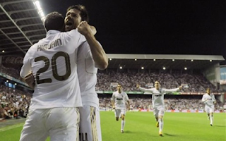 أهداف مباراة ريال مدريد واتلتيكو بلباو 3-0 + فرحة اللاعبين باللقب 2-5-2012