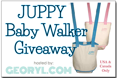 Juppy Baby Walker Giveaway