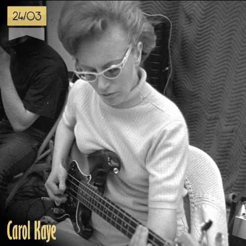 24 de marzo | Carol Kaye | Info + vídeos
