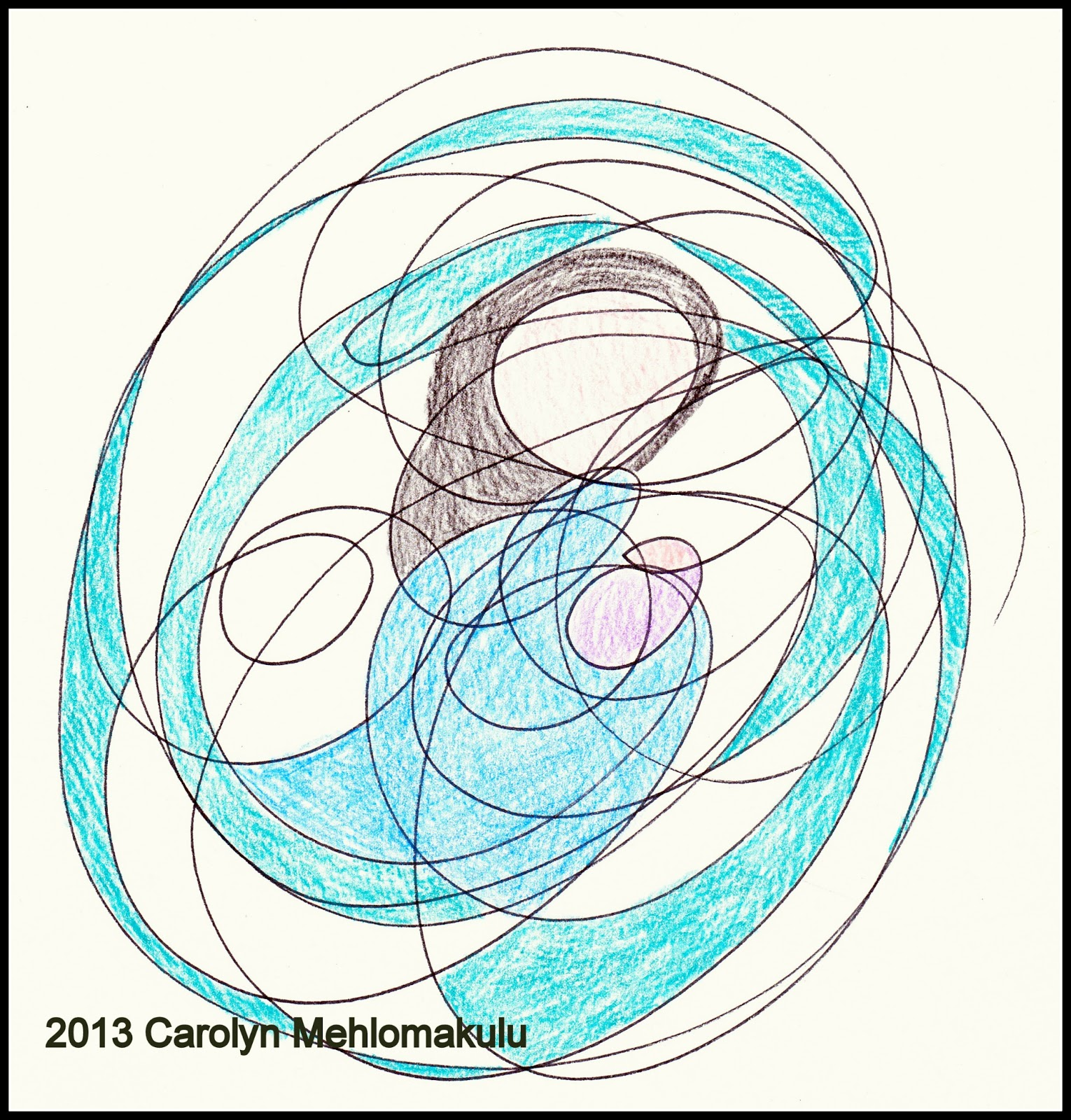 Scribble Drawing Art : Scribble drawings part creativity in therapy