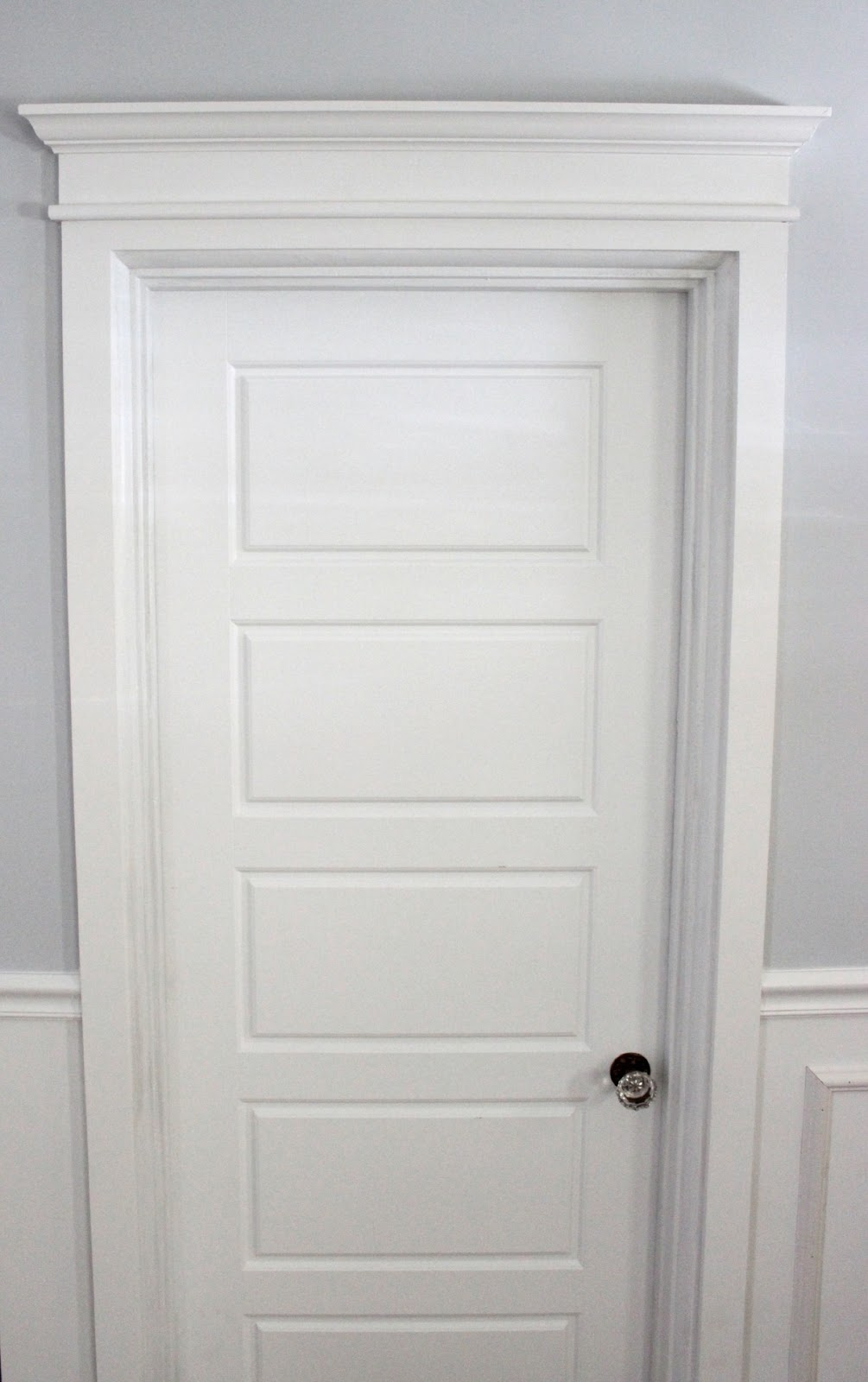 & DIY Door Trim Tutorial - Dream Book Design