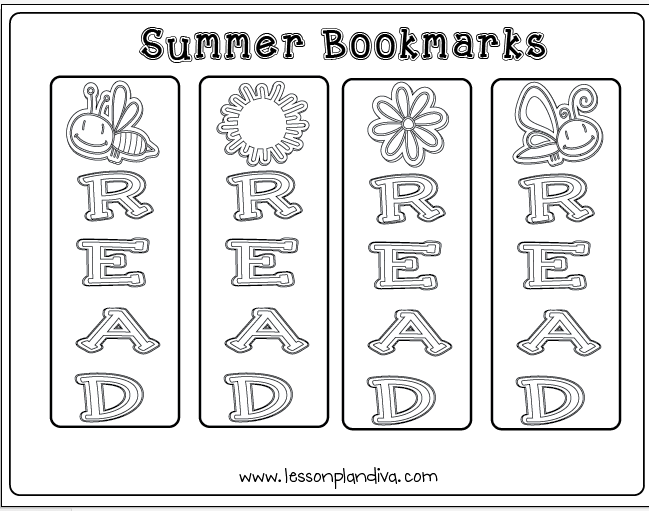 Summer Reading and Writing Pack! - The Lesson Plan Diva