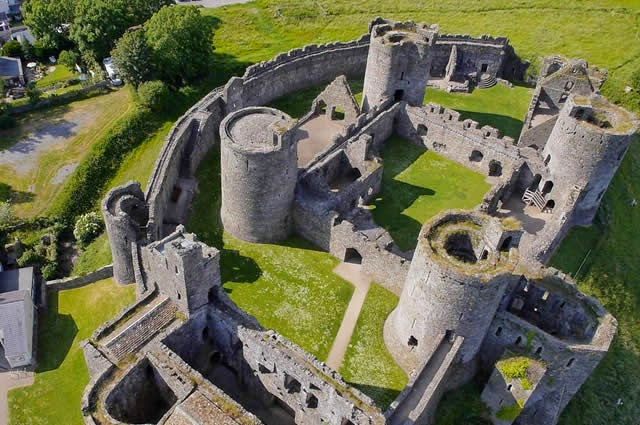 Kidwelly Castle, Wales, País De Gales