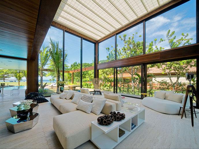 Open Space Living Room Design Rumah Desain & Gambar Mengintip Desain Rumah Minimalis 2 Lantai Kolam Renang Http ...