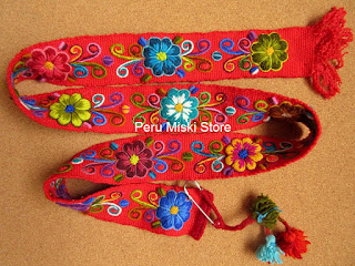 Red Ayacucho Belt