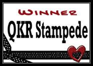 QKR Stampede Winner