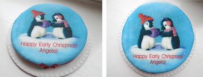 birthday cake, petite cake, letterbox cake
