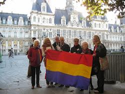 Reunión de una delegacion de los ARE de RP con la alcaldia de Paris