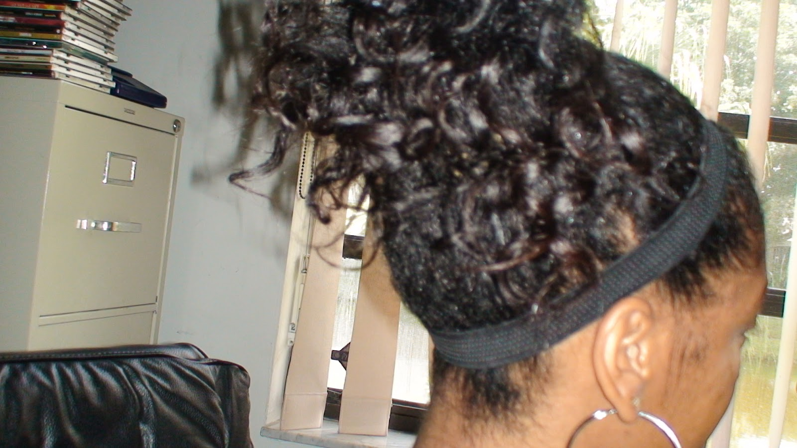 transition hairstyles from relaxed to natural : ... TO CARE FOR COILY HAIR: Many Hair Style Options for Transitioning Hair