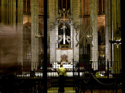 Altar of the Barcelona Cathedral