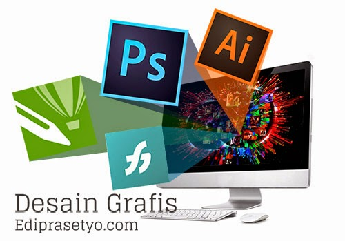 Pengenalan Desain Grafis, Photoshop, illustrator, Indesign, Coreldraw dan Freehand