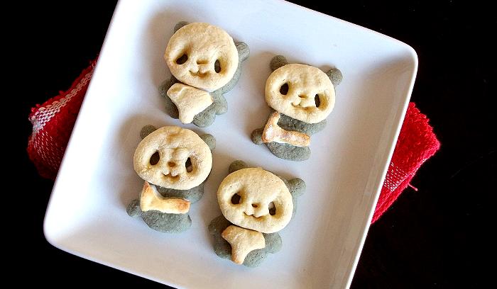 3-D Panda Cookies
