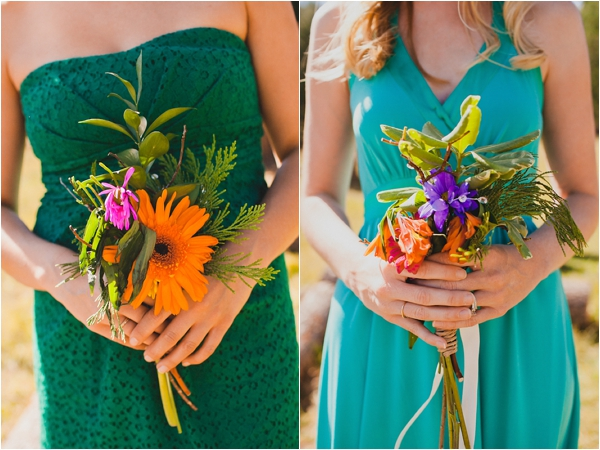 bouquets // photo credit: Bethany Carlson Photography
