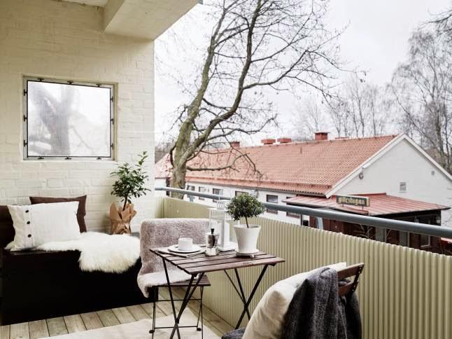 Boho deco chic insp raci n balcones de invierno con encanto - Balcones con encanto ...