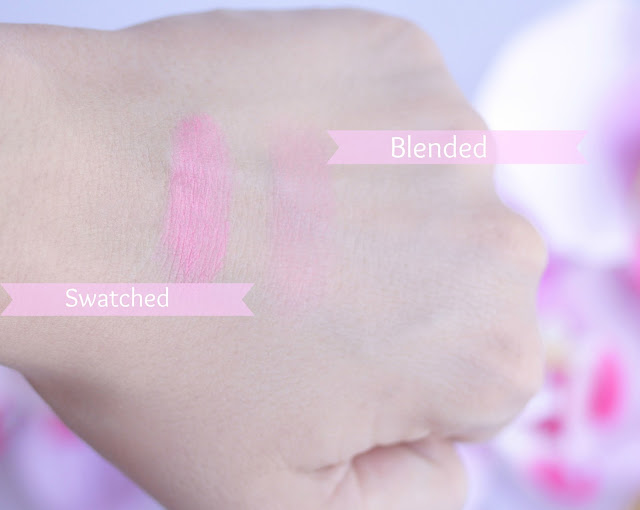 YSL Cream Blush in #9 Baby Doll Swatches