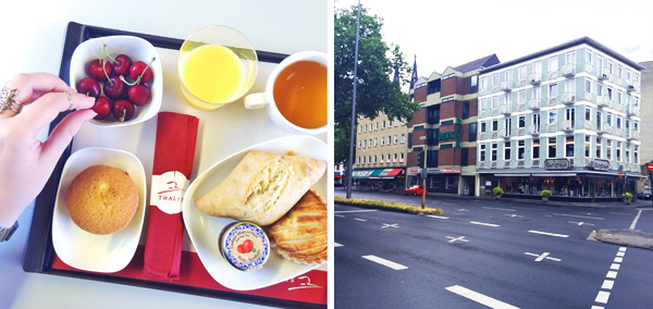Petit dejeuner Thalys