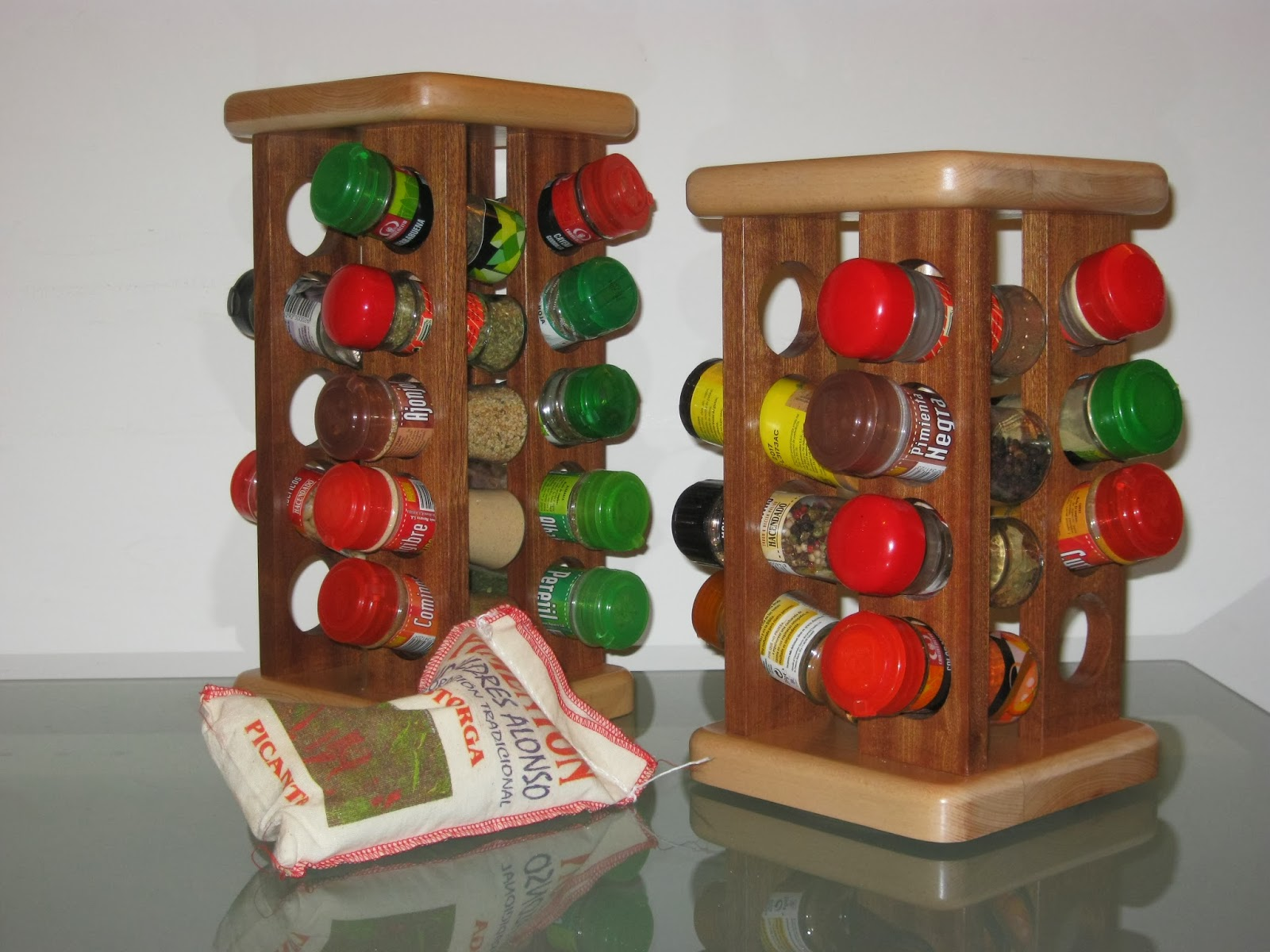 Regalos de navidad especieros christmas presents spice - Como hacer un especiero ...
