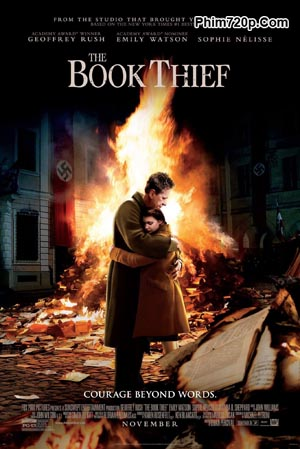 The Book Thief 2013 poster