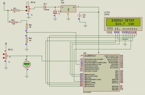 Energy Meter Circuit Diagram ndash readingrat net