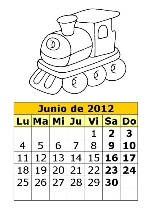 Guardería Los Pitufos .- Saldaña: actividades para junio
