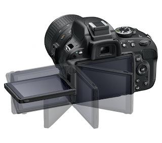 Nikon D5100 16.2 mp Digital Slr Camera Back View