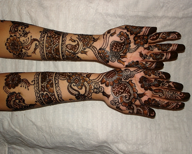 Mehndi Designs For Hands Bridal Rajasthani : Mehendi november